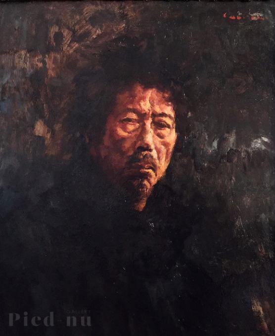 銀座アートギャラリー・ピエニュ 藤崎孝敏(Cauvine)肖像画