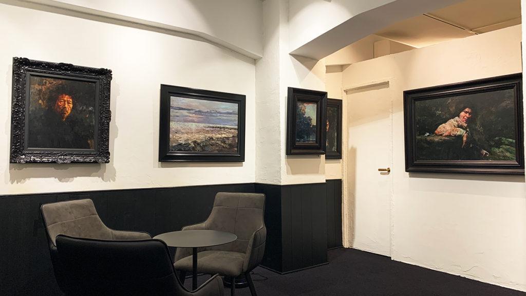 銀座 アートギャラリー・ピエニュの内装写真